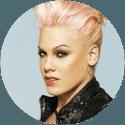 Pink pop star