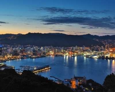 Wellington city skyline